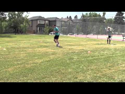 Technical Soccer Warm Up Drills - Progressive Soccer Training