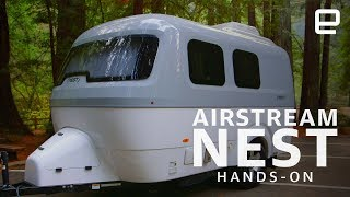 Airstream Nest Hands-On: A futuristic symbol of freedom - ENGADGET