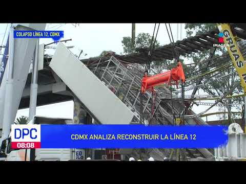 ¿Reconstruir Línea 12  El gobierno de la CDMX lo piensa