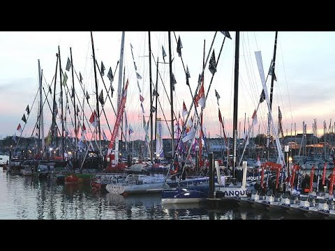 Comienza la aventura para los regatistas en la mítica Vendée Globe