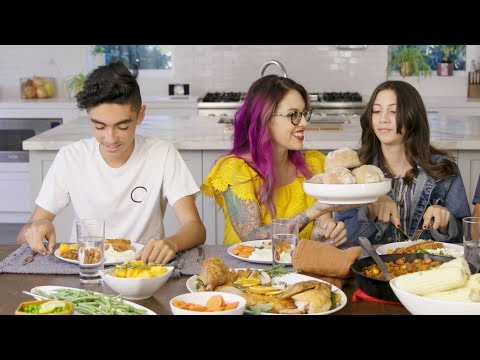 Thanksgiving Dinner with Claudette Zepeda-Wilkins // Presented by Tasty & Google Home Hub