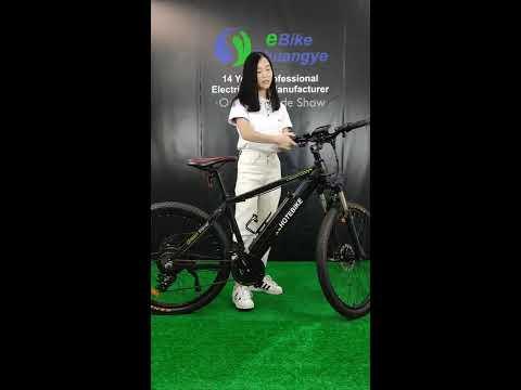 Shuangye hot sell electric mountain bike A6AH26
