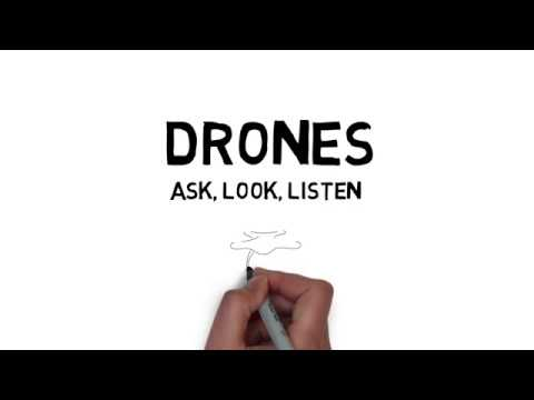 RAF Drone Safety | Ask, Look, Lsiten