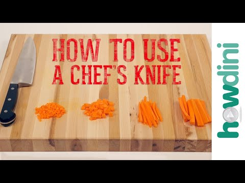 Knife Skills: How to Use a Chef's Knife