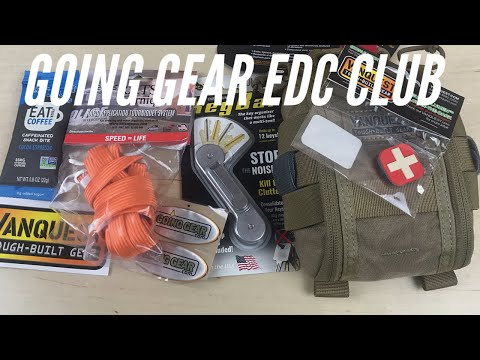 Going Gear EDC Club: Vanquest Fat Pack, Key Bar, RATS Tourniquet, and More