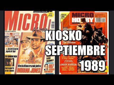 MICROMANIA Y MICROHOBBY SEPTIEMBRE KIOSKO 1989