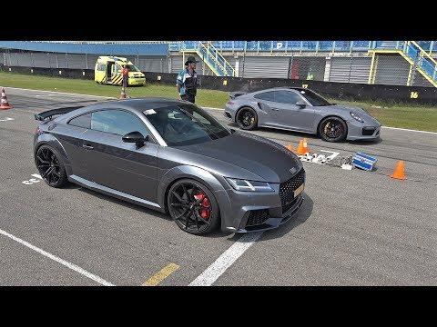 Audi TT RS Plus vs Porsche 991 Turbo S