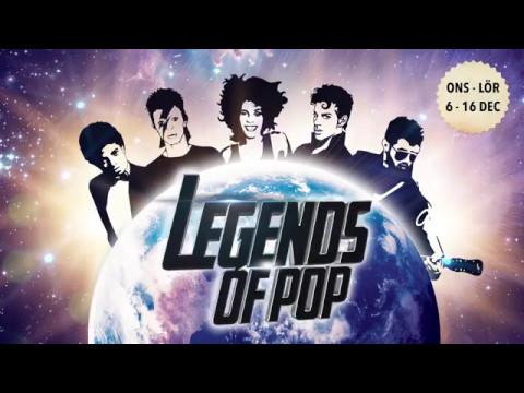 Legends of Pop - Julbord på Clarion Hotel Post 2017