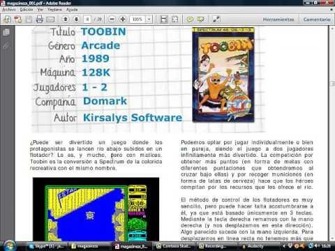 Clásicos del Spectrum: ZX Magazine número 1