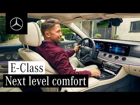 Next Level of Comfort | Interior Design of the New E-Class