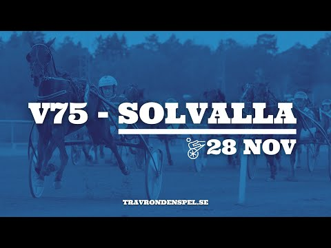 V75 tips | Solvalla | 28 november