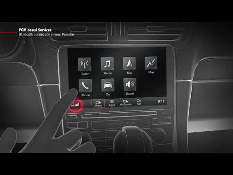 """How to Video """"PCM based Services - Bluetooth Connection in your Porsche"""""""