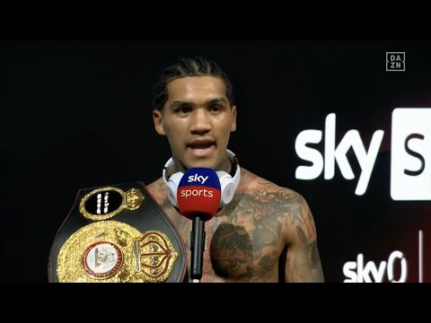 Conor Benn Says He Wants Amir Khan Next In Pulsating Post-Fight Interview