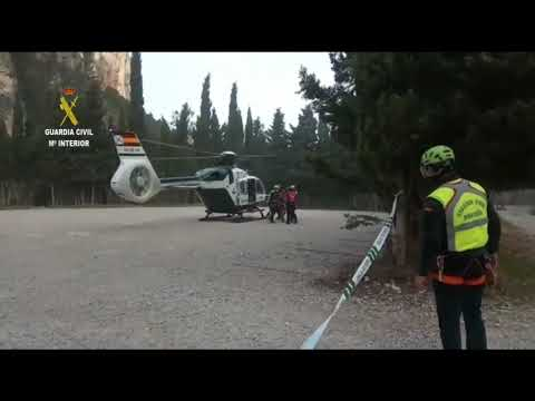 Rescatan ilesa a una senderista perdida en el Parrizal de Beceite de Teruel