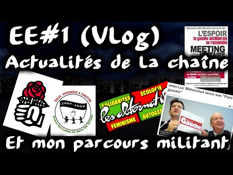 (Vlog) Actus et mon parcours militant #EtatdEsprit 1