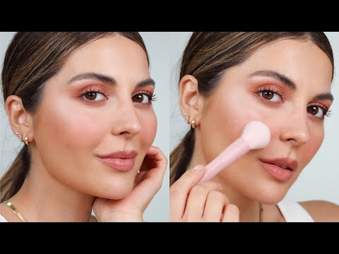 1 Brush, 6 Ways to use it + Peach Summer Makeup Tutorial