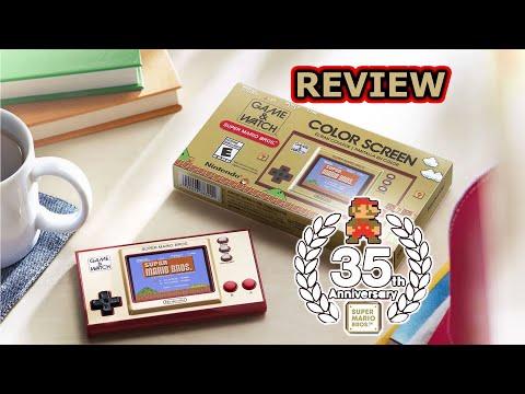 Game & Watch Super Mario Bros 35 aniversario Unboxing y review