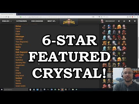 connectYoutube - 6 Star Featured Crystal Already?! | Marvel Contest of Champions