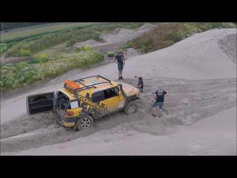 Hamer Rallyteam testing 2020