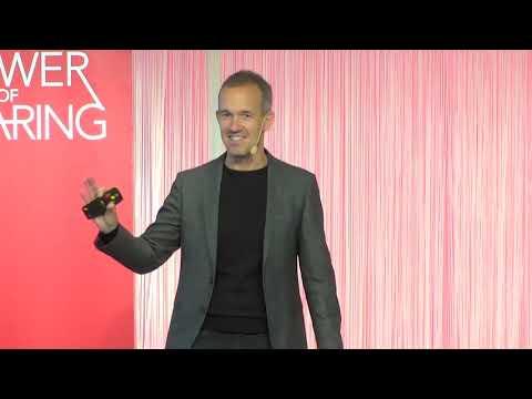 Claes Lindholtz på Power of Sharing