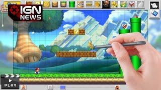 Mario Maker: Miyamoto Confirms Online Level Sharing - IGN News