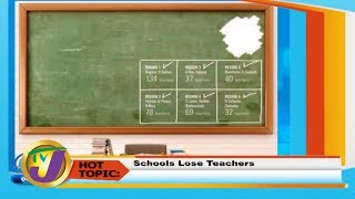 TVJ Smile Jamaica: Schools Lose Teachers - February 14 2020