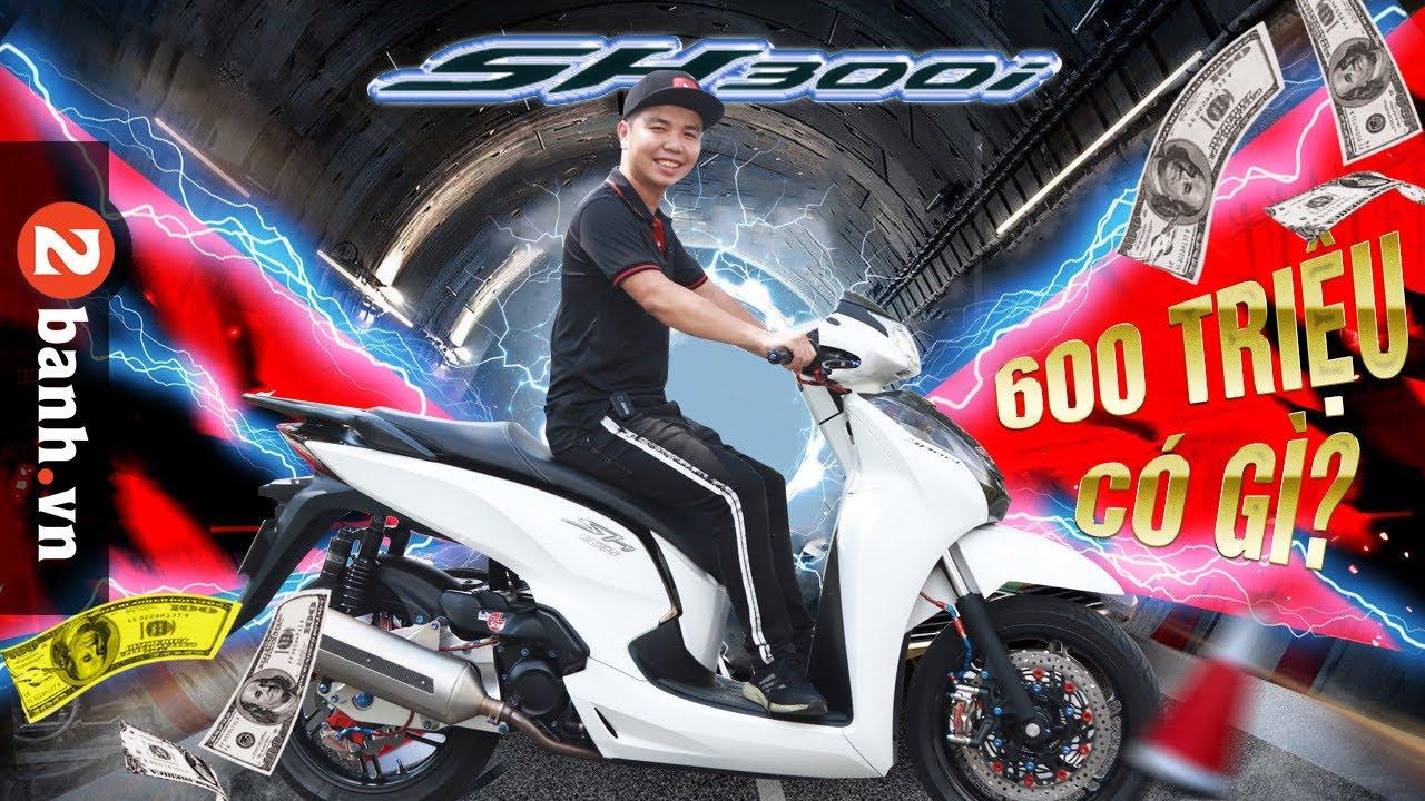 Lộ diện SH300i sở hữu option KHỦNG tại Sài Gòn I
