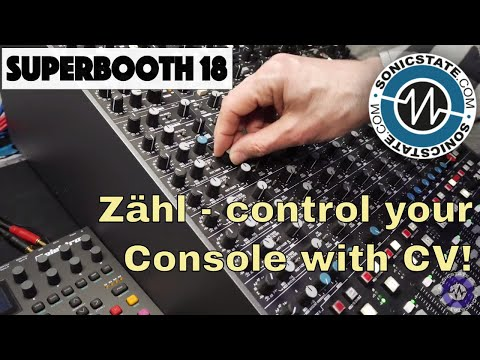 Superbooth 2018: Zähl - What The...? CV on a Studio Console? Cool!