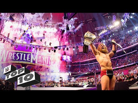 6 superstars with the most wrestlemania wins