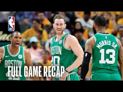 CELTICS vs PACERS   Boston First to Advance!   Game 4