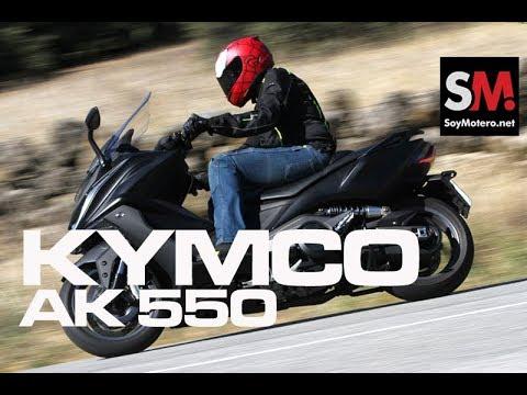 KYMCO AK 550 2017 (II): Prueba Scooter [FULLHD]