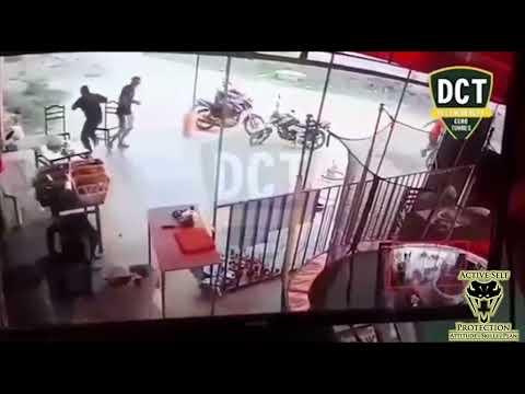Peruvian Defender Wins The Fight