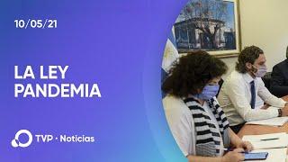 Ultiman detalles del proyecto de ley con criterios epidemiológicos sobre el coronavirus