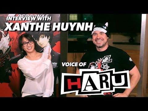 Persona 5: VA Xanthe Huynh Talks About Playing the Elegant Haru Okumura!