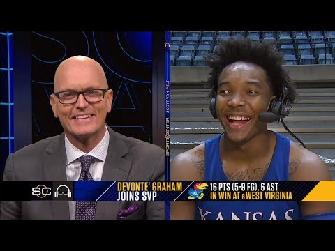 connectYoutube - Devonte' Graham says 'we knew we had it in us' after a big win against WVU | SC with SVP | ESPN