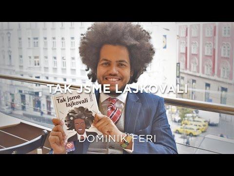Dominik Feri představuje svou knihu Tak jsme lajkovali