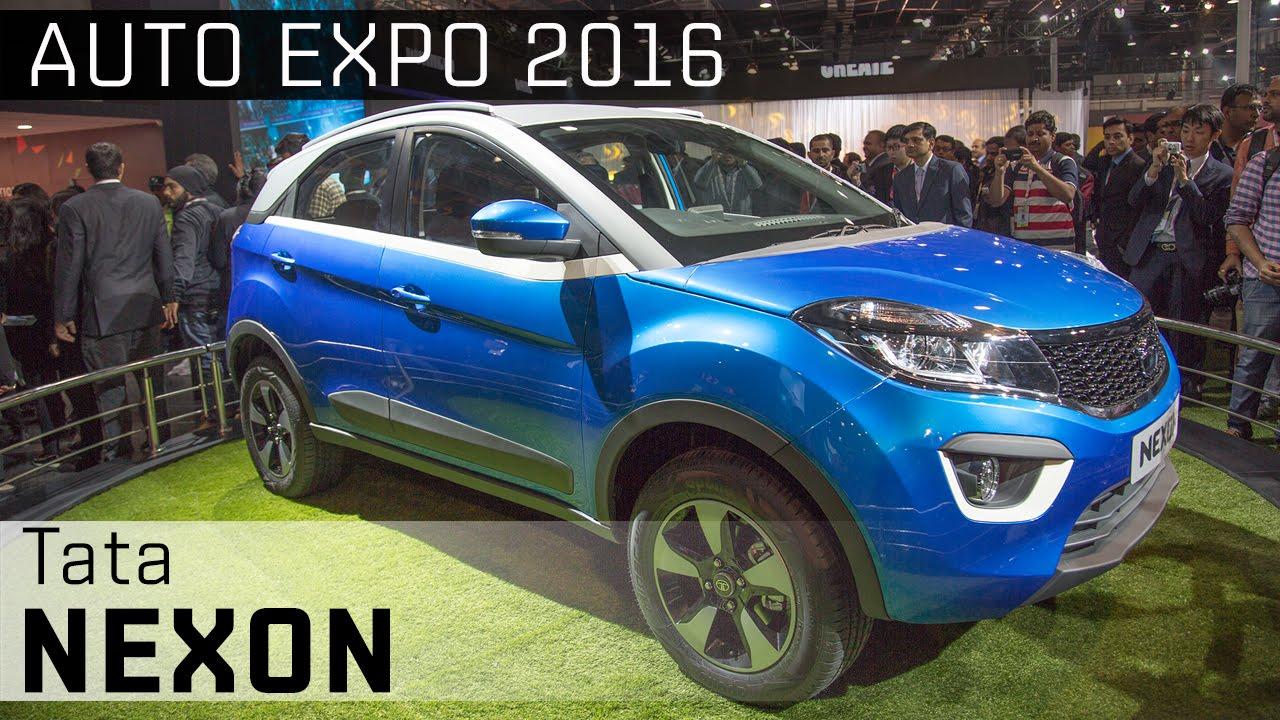 Tata Nexon :: 2016 Auto Expo WalkAround video :: ZigWheels India ZigWheels  ZigWheels