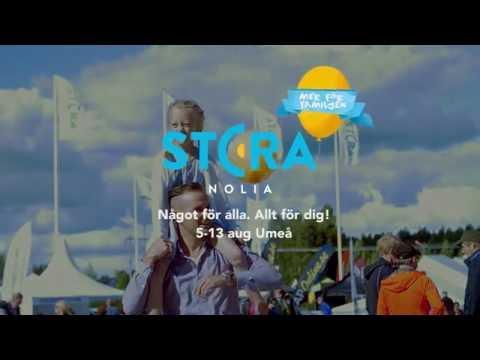 Stora Nolia 5-13 aug Umeå 2017