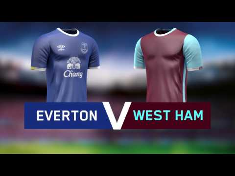 Premier League: Everton v West Ham - 30 October 2016