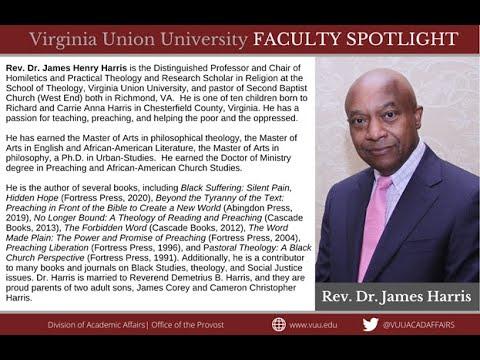 FACULTY SPOTLIGHT - Rev. Dr. James Harris