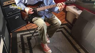 Suhr Custom Classic Figured Walnut 2-Tone Burst HSS #JS5F3Q Quick n' Dirty