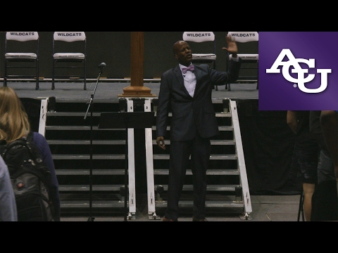 ACU Chapel with Steven Moore; February 13, 2017