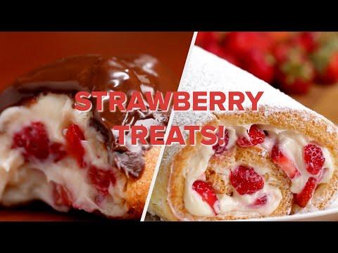 Strawberry Treats For Everyone ? Tasty Recipes