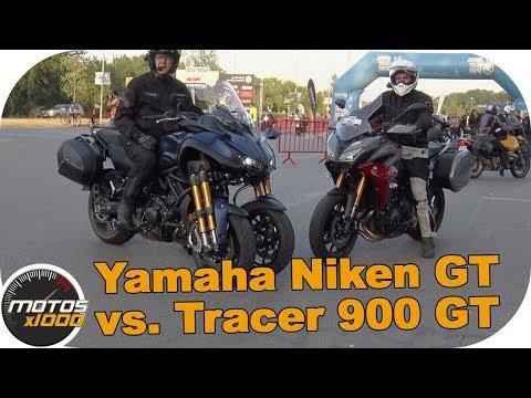 Comparativa Yamaha Niken GT Vs. Tracer 900 GT | Motosx1000