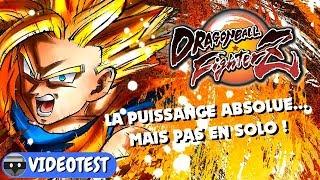 Vidéo-Test : DRAGON BALL FIGHTERZ : La puissance absolue... Mais pas en SOLO ! TEST PC