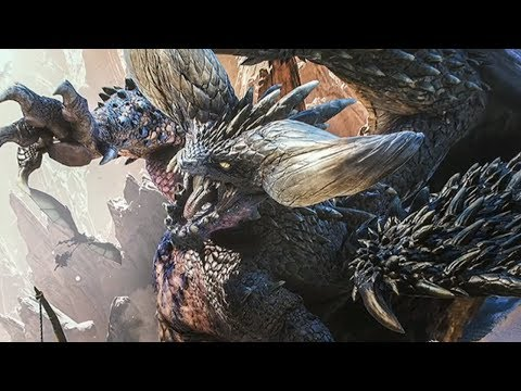 connectYoutube - Defeating Nergigante in Monster Hunter World Beta Livestream - IGN Plays Live