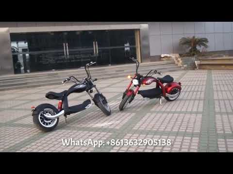Harley electric scooters with 3000w eec coc