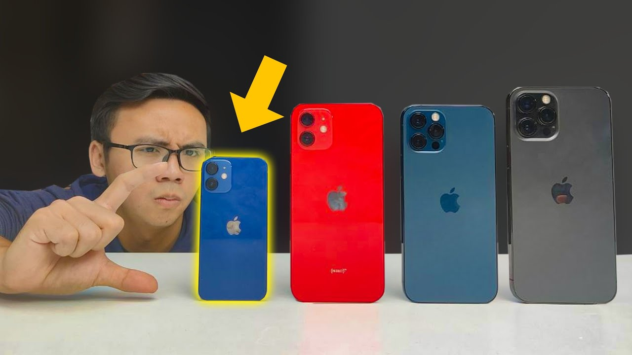 UNBOX iPHONE 12 MINI - CHIẾC iPHONE KHÔNG AI QUAN TÂM