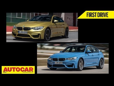 2014 BMW M3 Sedan & M4 Coupe | First Drive Video Review