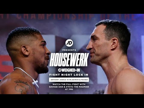 JD Fight Night Lock In | Joshua vs Klitschko